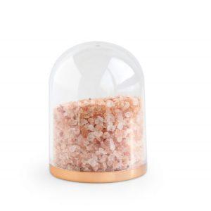 Verpakking: Globe rose goud bodem