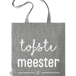 Geschenken: Tas Meester - Grijs