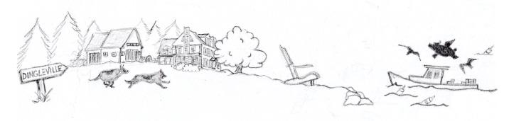dingleville sketch