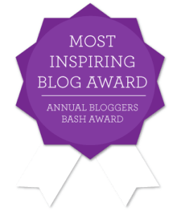Most Inspiring Blog Award
