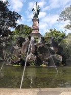 Sir John Logan Campbell welcomes you to Cornwall Park