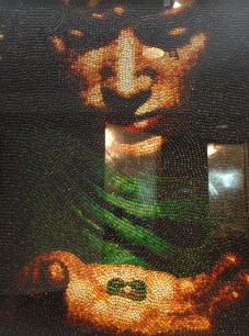 Word on the street is, this depiction of Frodo and the One Ring took more than 100 hours to make, using 20,000 jelly beans. Who's job was it to count?