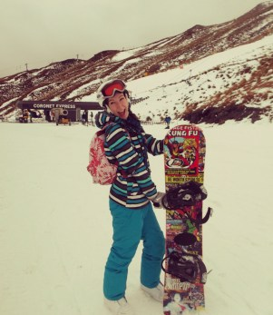 As you can see, I am very happy with my rental board.