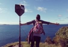 Horseshoe Point. I am on the edge of the world.