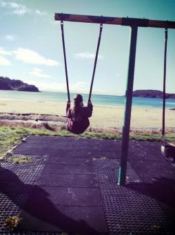 Swings at Bragg Bay