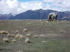 Definitely a rock behind here, like.