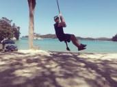 Davin the swinger. Hehe.