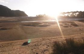 Sunrise in Bark Bay.