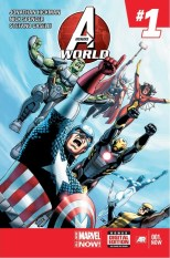 Avengers World official Number1 cover
