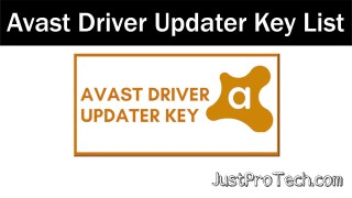 Avast Driver Updater Key with All Registration Serial Activation and License key