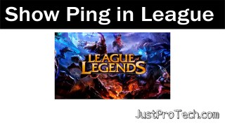 how to show your ping in league of legends 2021