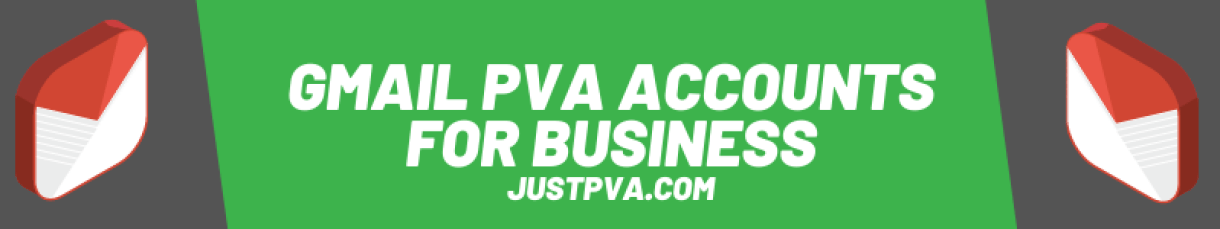 Gmail PVA accounts for Business