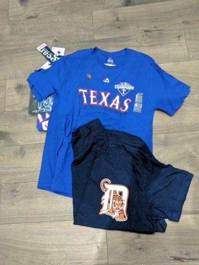 Ranger T-Shirt Quilt 1