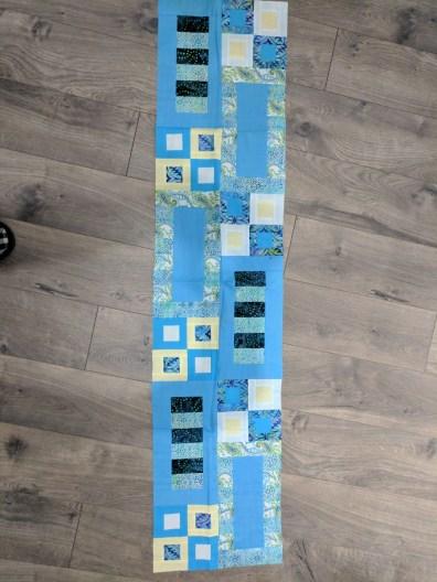 Blue Table Runner