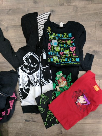 Old Goth T-Shirt Quilt