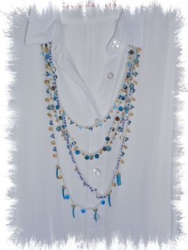 14 - Crocheted Beaded Necklace - TLE July Mixer