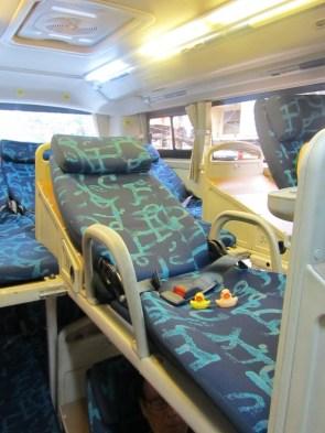Bus travel...