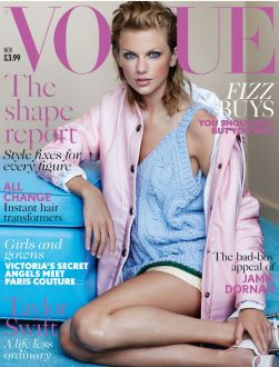 Taylor Swift in Vogue Magazine cover