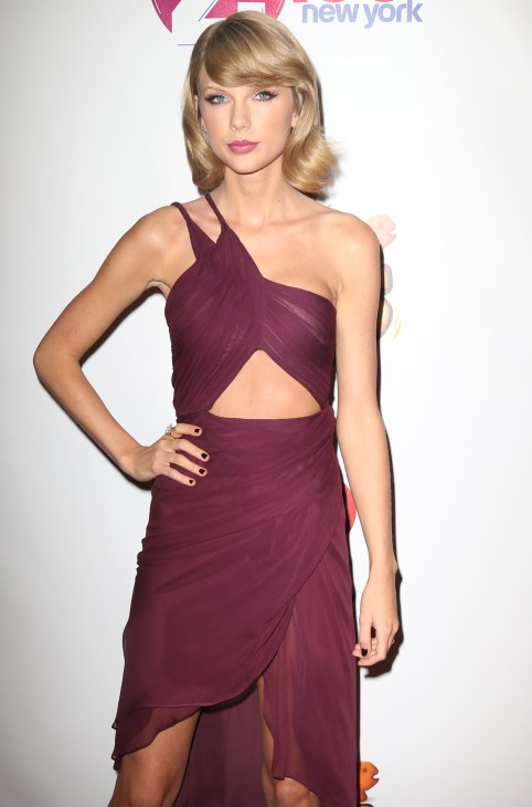 Taylor Swift at Z100's Jingle Ball 2014