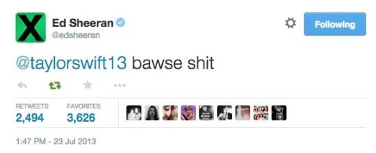 taylor swift birthday tweet