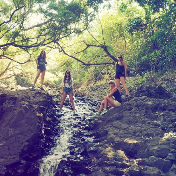 Taylor Swift hike in Maui