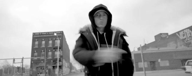 """Eminem in """"Detroit Vs Everybody"""" music video"""