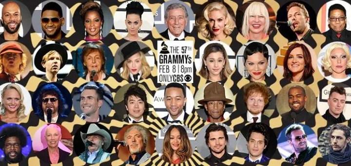 57th grammy awards full list of winners
