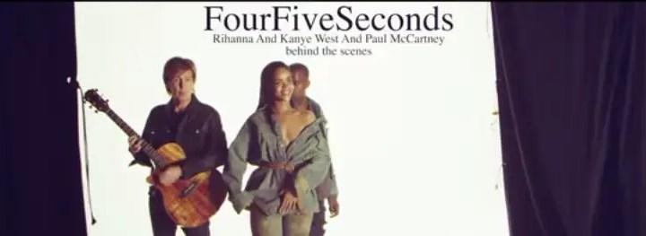 fourfiveseconds music video BTS