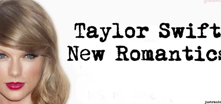taylor swift new romantics single 1989 deluxe edition