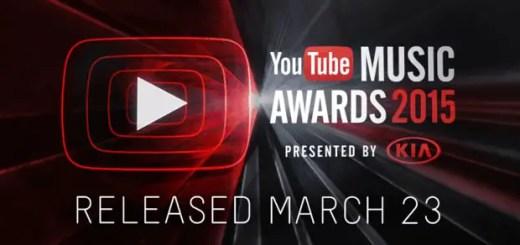 YouTube Music Awards 2015