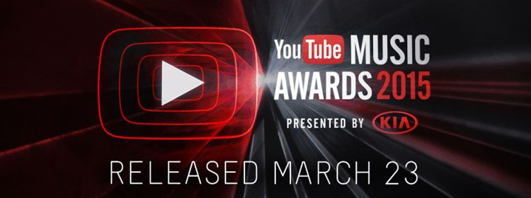 YouTube Music Awards 2015