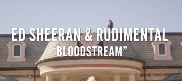 ed sheeran bloodstream music video tease