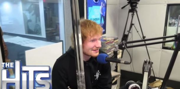 Ed Sheeran was so happy about receiving Jon Snow's sword as a gift