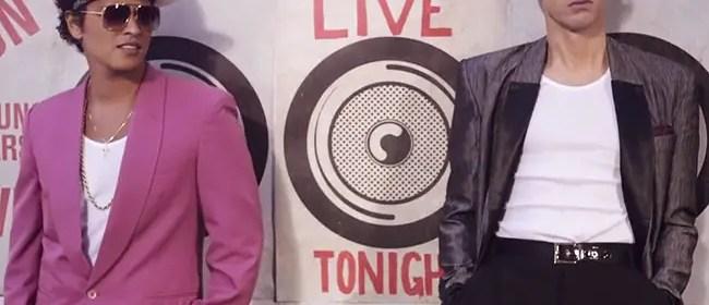 uptown funk bruno mars mark ronsosn billboard hot 100 record