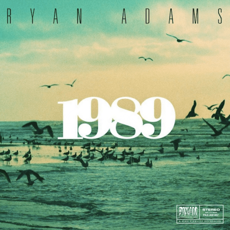 album cover art ryan adams 1989 taylor swift