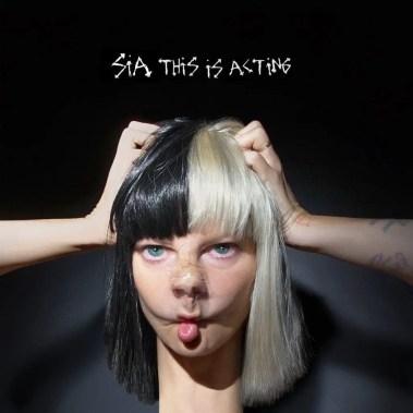 sia this is acting album cover