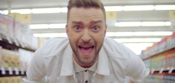 justin timberlake can't stop the feeling music video
