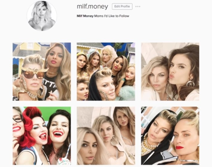 fergie milf $ milf money music video models