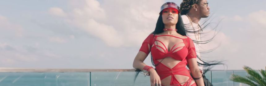 you da baddest video hot future nicki minaj