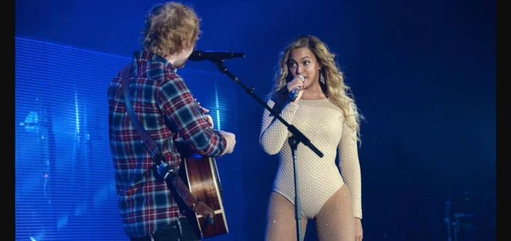 ed sheeran beyonce drunk in love acoustic live