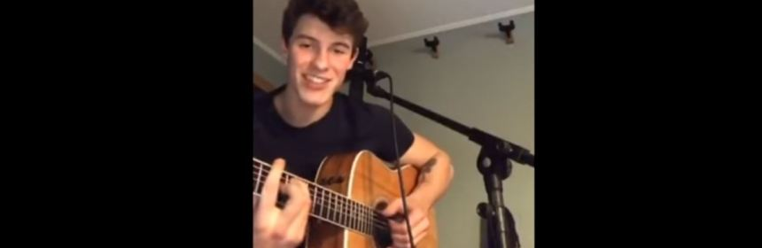 shawn mendes freestyle live stream lyrics review