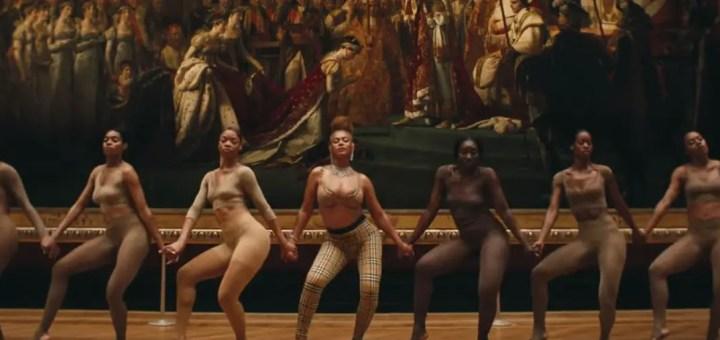 the carters apeshit music video lyrics
