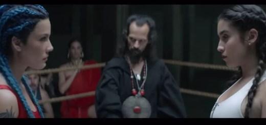 halsey lauren jauregui strangers lyrics video