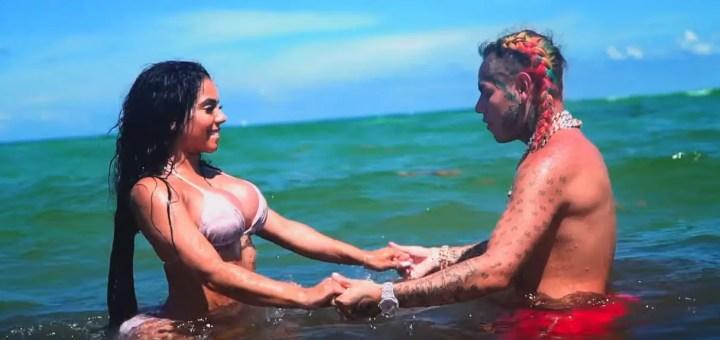 6ix9ine bebe music video hot explicit