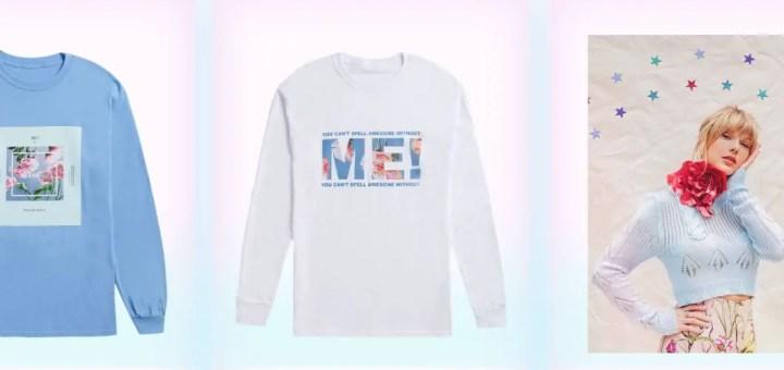 taylor swift merchandise me! t shirt cap