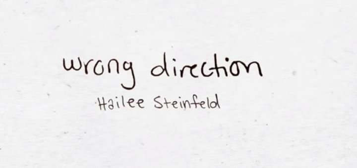 hailee steinfelf wrong direction lyrics