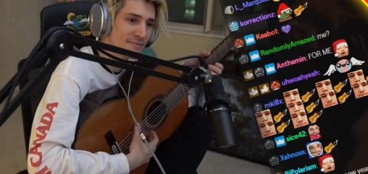 xqcow sing hey there delilah