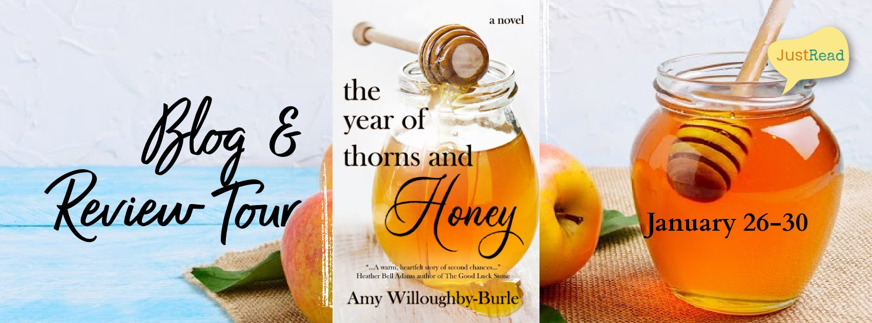 Welcome to The Year of Thorns and Honey Blog + Review Tour & Giveaway!