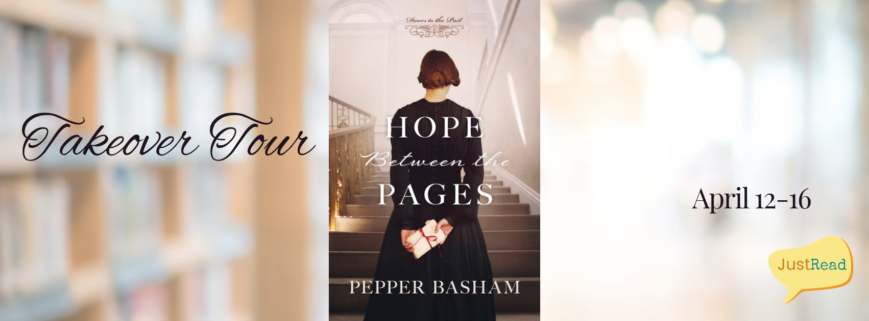 Welcome to Hope Between the Pages Takeover Tour & Giveaway!