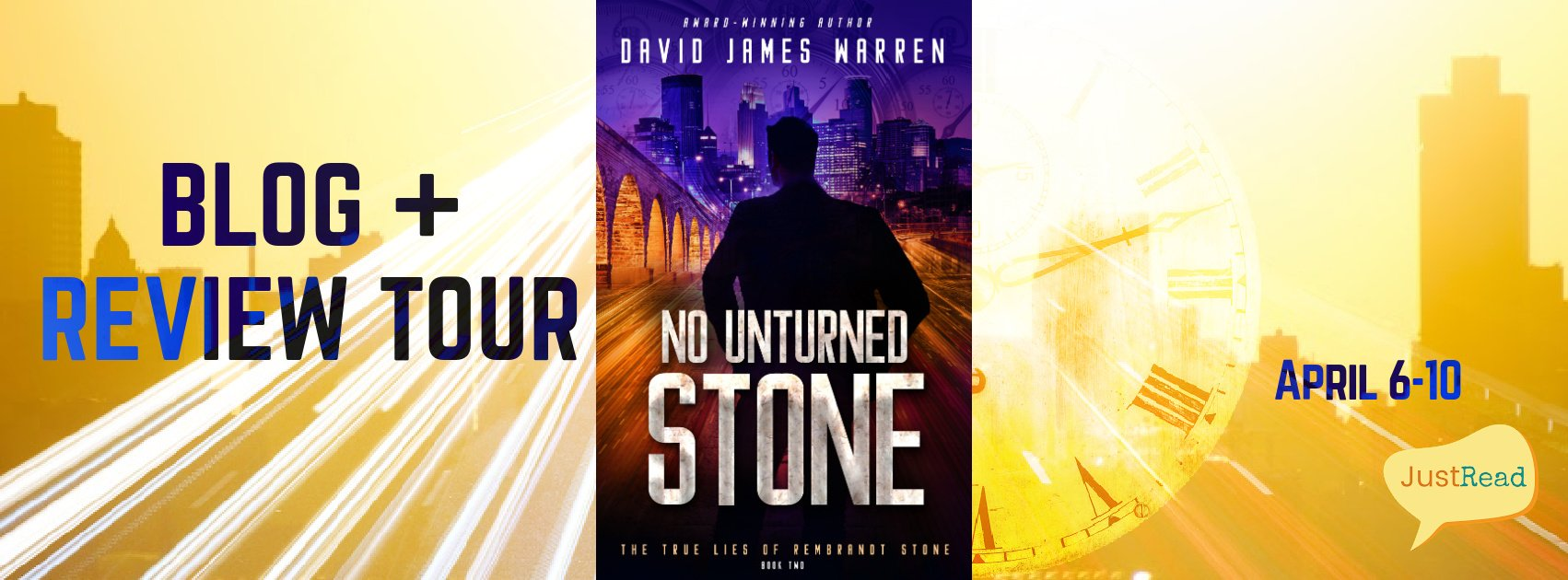 Welcome to the No Unturned Stone Blog + Review Tour & Giveaway!